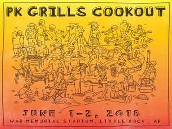 PK Grills Holds Biggest Cookout Ever at War Memorial Stadium